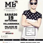 Mis amores de Villahermosa nos vemos el 19 de septiembre, los boletos ya están a la venta 😁💃🏻💥🔥❤️ http://t.co/dKHcafs3BY
