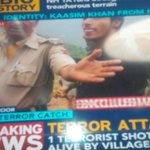 Qasim Khan from Pakistan, terrorist arrested alive from NH 1A encounter. Breaking on @IndiaToday http://t.co/CbbEVSfjJv