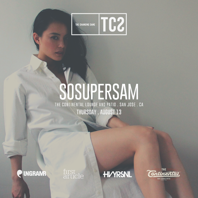 Thank you guys for all your support. Pre-sale tickets for @sosupersam are SOLD OUT. Limited tickets at door... http://t.co/FDNf4MvCtR