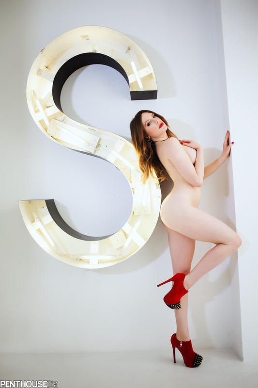 """S"" is for Samantha ;) #August #BadAss #PenthousePet #ThonglessThursday #NoThongThursday"