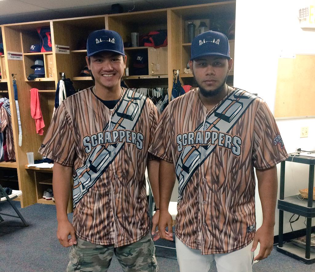 SNEAK PEAK! The Chewbacca inspired jerseys were wearing tomorrow will be available for auction at the game! http://t.co/NjdWKiVRj8