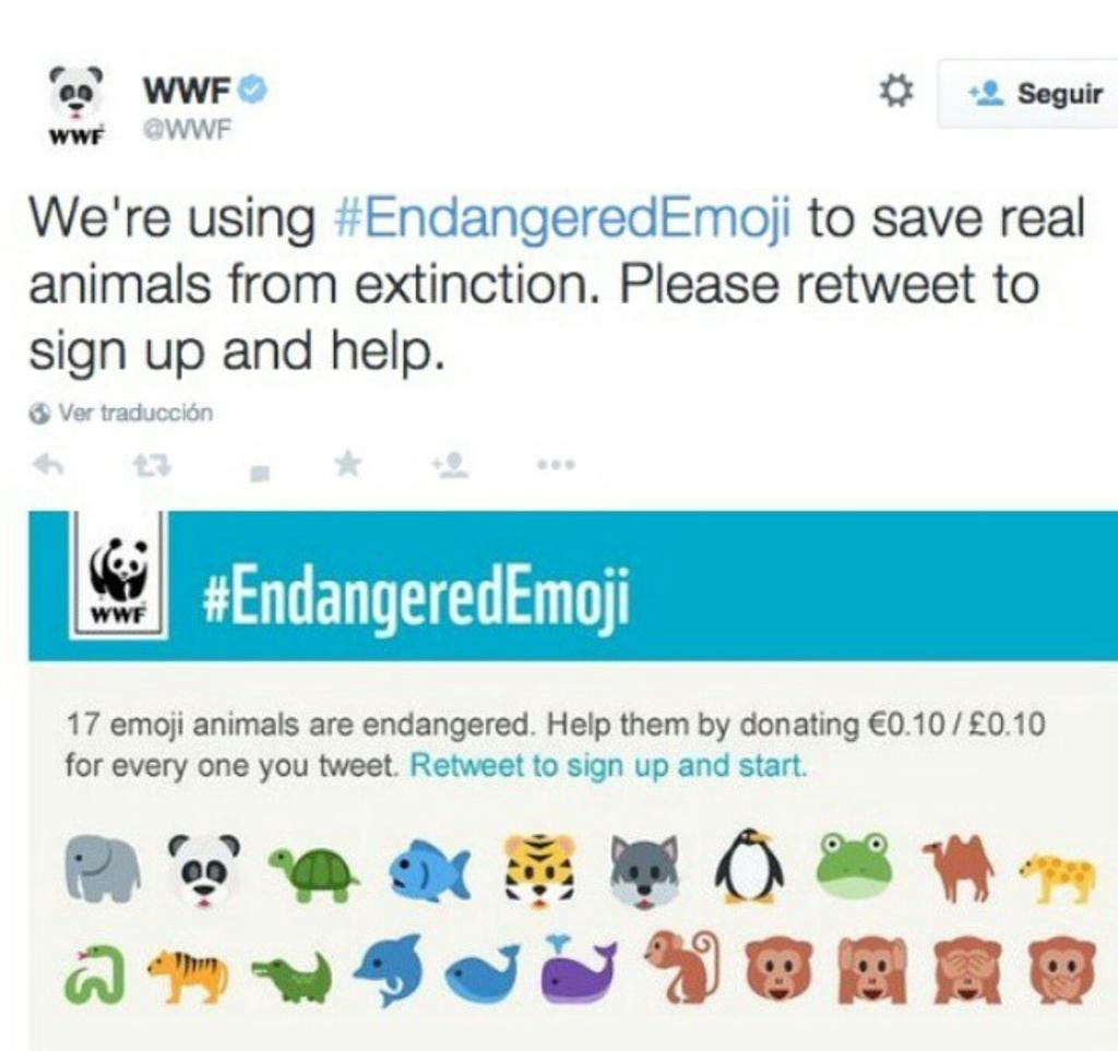 Please help me spread the word about #endangeredemoji ! Thanks