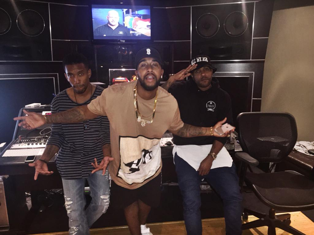 Great session today @1Omarion @micahfonecheck http://t.co/SwCuvnyu9T