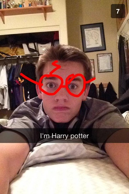 Happy birthday Harry Potter. love you