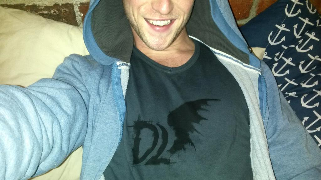 Gonna catch some Z's.....in my #Dominion Tshirt!