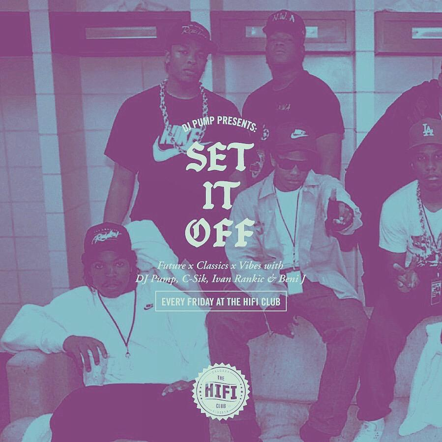 rocking a special #NWA tribute tonight - playing all the RAP classics and the new new @HifiClub http://t.co/HfnJNw9uSp