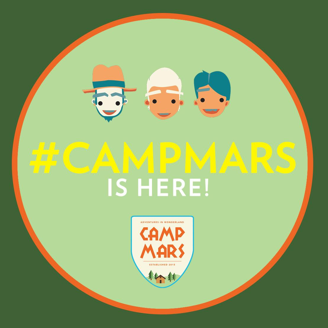Today, today, today!! #CampMars http://t.co/CceqN23NmC