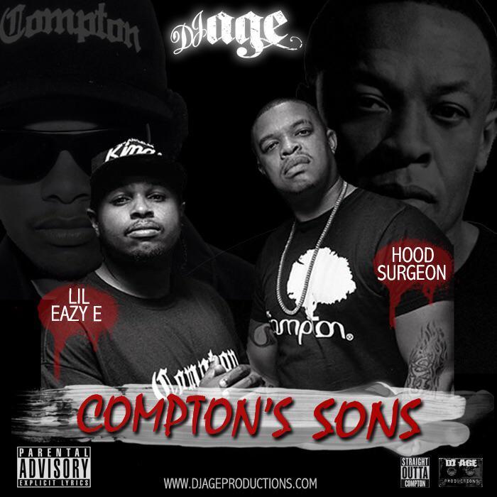 @DJAGE Presents @ewrightjr #LilEazyE  & @MrCurtisYoung #HoodSurgeon - #ComptonsSons http://t.co/mUOYdA7zJ1 http://t.co/AwYYQqzVP3