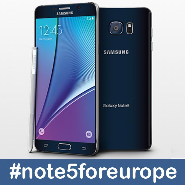 Want the #galaxynote5 from #samsung to come to Europe? http://t.co/A4wWIvTwhQ  #note5foreurope http://t.co/M4yQ1hKf3t