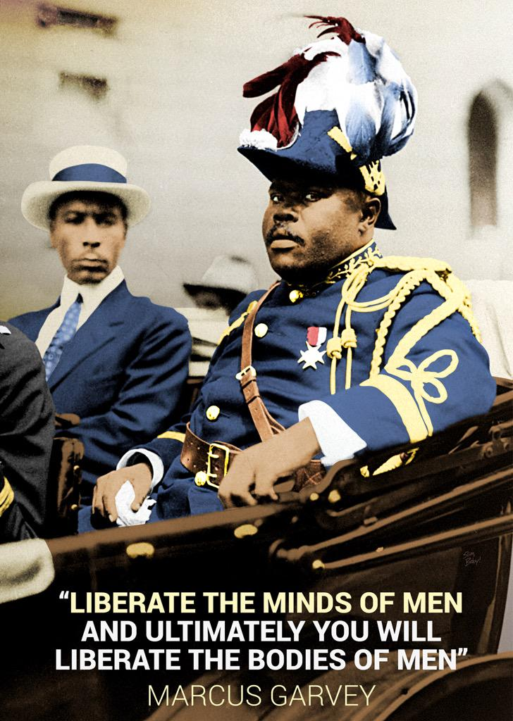 Happy Born Day the great Marcus Garvey! The OG of being Unapologetically Black http://t.co/rxYIf1d5Na
