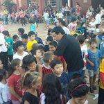 BOP 86: Fátima, Garupá: agasajamos a niños del barrio. Gracias a docentes, padres, alumnos y a quienes colaboraron. http://t.co/AWaHf2JPFE