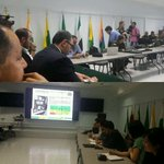 Con mision Coreana @BID_Ciudades @bouskela @Findeter recibimos informacion q tecnologia tiene @PoliciaColombia http://t.co/wUkQTrOTqv