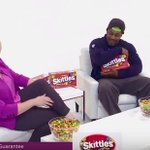 VIDEO: Marshawn Lynch shows off sales skills while selling @Skittles on infomercial http://t.co/tuC7DpVpbT http://t.co/26ZB7dBxZ2
