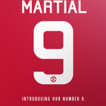 Our new no.9... #WelcomeMartial http://t.co/BP7YUX7CYv
