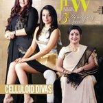 RT @jfwmagofficial: Celluloid Divas Saroja Devi @khushsundar @trishtrashers graced #JFW's #anniversary cover in 2012. #flashback #8years ht…