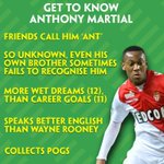 Who is Anthony Martial? Get to know Manchester Uniteds latest signing...#MUFC http://t.co/O3L373OfTm