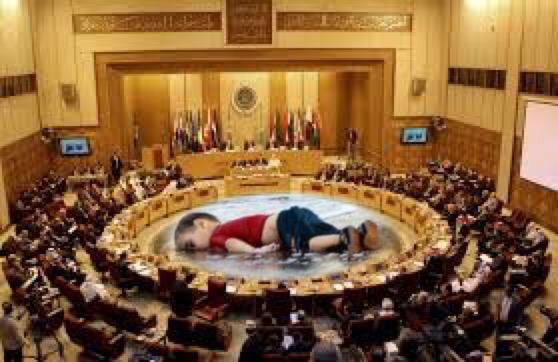 ﷽ ﴿ولا تحسبن الله غافلاً عما يعمل الظالمون إنما يؤخرهم ليوم تشخص فيه الأبصار﴾ #غرق_طفل_سوري http://t.co/FLEFa73EOw