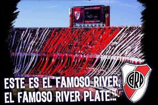 Este es el famoso #River, el famoso #RiverPlate. http://t.co/jB14n0xvGl