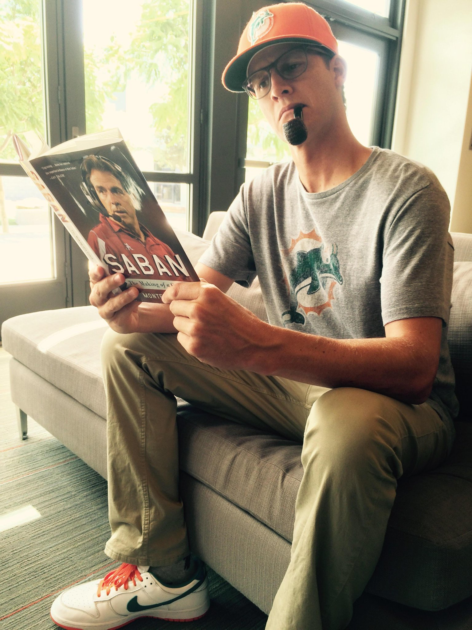 just finishing up some light summer reading. full book report on tomorrow's season premiere. #tosh http://t.co/7CRJzZu5zU