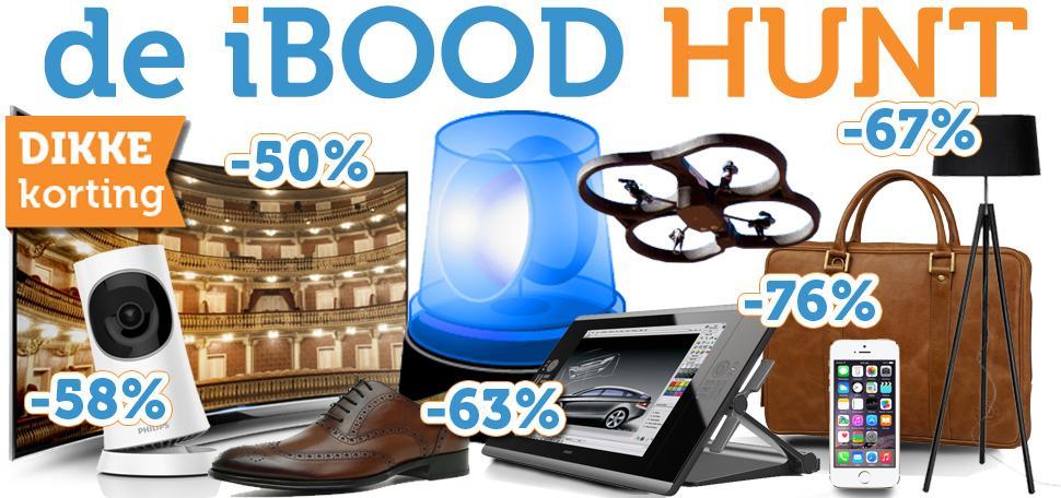 Hij is LOS! De #iboodhunt Fijne koopjesjacht allemaal! http://t.co/S2vdwtiOAC