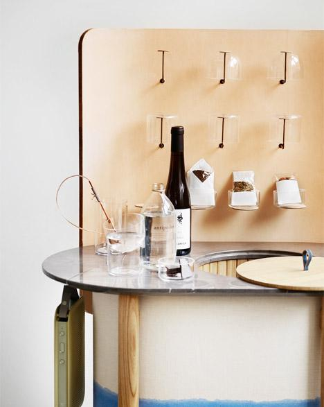 Cecile Manz has re-imagined the standard hotel mini bar... and it's beautiful. http://t.co/o38dfYGPbl #interiordesign