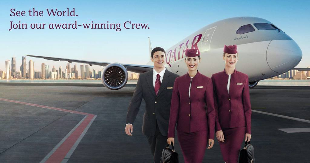 QatarAirways is looking for the best talent in Rome, Italy. Apply for the event at