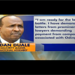 #OpinionCourt: Raila sues Duale over allegations of debt to Mumias Sugar company http://t.co/0mtbOE1eLr