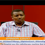 Maanzo:I dont think Mutuas tears are real.He should have shed them earlier as he was in Kibakis govt #OpinionCourt http://t.co/xUuDwDuNpu