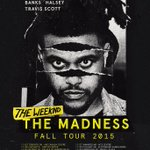 #BEAUTYBEHINDTHEMADNESS by @theweeknd + #BADLANDS by @halsey out tomorrow! Also dont miss #TheMadnessTour this fall! http://t.co/uBSqu9c1bX