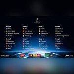 Así quedan los grupos de la UEFA Champions League 2015-2016. #Panamá http://t.co/0cj2BU7H2i