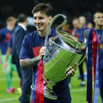 Lionel Messi wins the Best Player in Europe award for 2014/15. Richly deserved. http://t.co/RdJwvb9KNp