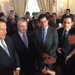 Con el Pte Varela y la Min. de Justicia de Chile Javiera Blanco con quien firmaremos acuerdo de cooperación mañana. http://t.co/k0VXGTldSV
