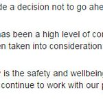 UPDATE: @VictoriaPolice statement on its decision to abandon this weekends Operation Fortitude. #9News http://t.co/dFyLkEv48W