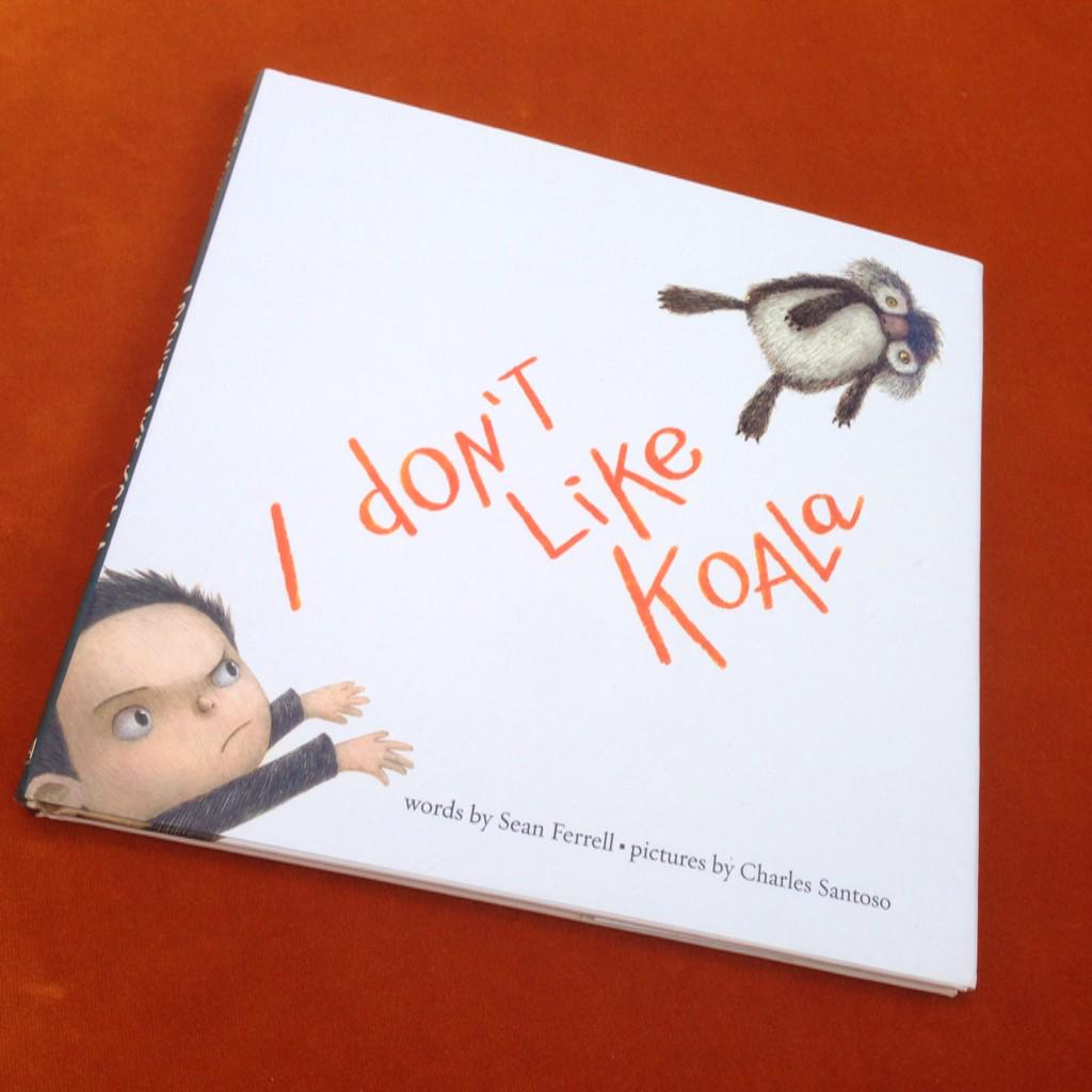 It's a love hate relationship #IDontLikeKoala and one we adore @minitreehouse #SeanFerrell Thx SO much @scholasticuk http://t.co/oQgMBKzWMB