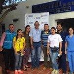 Equipo de Minsalud que apoya las labores humanitarias en la frontera con Venezuela #AtenciónFrontera http://t.co/gJNJPBc4k1
