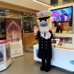 Come and meet the Captain at the @VisitBelfast Welcome Centre today & find out all about @TitanicBelfast! http://t.co/ciPUfyCV60