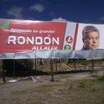 Así nos destruyan la publicidad, nuestros ideales y las ganas de sacar adelante a Tunja siguen firmes #RondónAlcalde. http://t.co/uVrOAQCJma