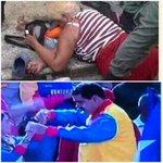 Aqui se resume drama venezolano: anciana muere aplastada por tumulto en Mercal mientras Maduro baila vallenato en TV http://t.co/nJZVLjJ6z7