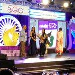 "Honoured 2give the Award ""@Naturals3000 Thank u Mrs NaseemaMirza honour 2 pay tribute 2 u @MirzaSania #MothersOfIndia"