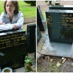 Heartbroken family in plea to find thugs who threw paint all over their mums grave: http://t.co/0JTLZEbaFd http://t.co/JSILLFG9w3