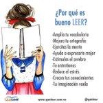 ¿Por qué es bueno LEER? #FelizLunes http://t.co/y7H7KBkAMf