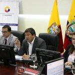 Min. @navasveracesar participa en XXII Sesión de Comité Intersectorial del Servicio Integrado de Seguridad ECU 911 http://t.co/GCdpvkUpsk