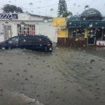 Más de 4 pulgadas de lluvia han caído en #Matamoros #Tamaulipas inundando por completo la ciudad. http://t.co/0cygY1Y8Ff