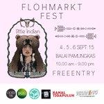 LITTLE INDIAN BY FLOHMARKTFEST | 4-6 sep | 10.00-21.00 | B Pamungkas | Live Musik | Free http://t.co/bpOft9nNMl -@FlohmarktFest