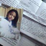 Makasih ya suratnya+mamanya yg sll anter sarah,hrs semangat sekolah ya,jgn kecapean jg,cepet sembuh @sarah_rahma19 :) http://t.co/V1mgHAP0JA