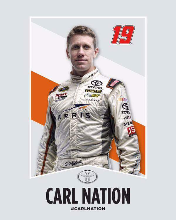 Is #CarlNation ready for #thechase?  @ARRIS @ToyotaRacing @StanleyRacing @NASCAR #Nascar #CarlEdwards http://t.co/1XZvBuW0ma