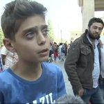 "VIDEO   Un refugiado sirio de 13 años: ""No queremos ir a Europa, simplemente parad la guerra"" http://t.co/DmXctyukA6 http://t.co/Fr07BoQi5Q"