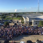 The City came together in a big way to show all law enforcement officers that #wevegotyoursix! #bluehouston http://t.co/dFDS17bXxp