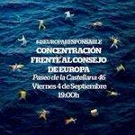 HOY- 19h concentración frente a la comisión de la UE (c/ Castellana 46) #UErfanos #refugeeswelcome #Madrid http://t.co/fzgBlDWwr1