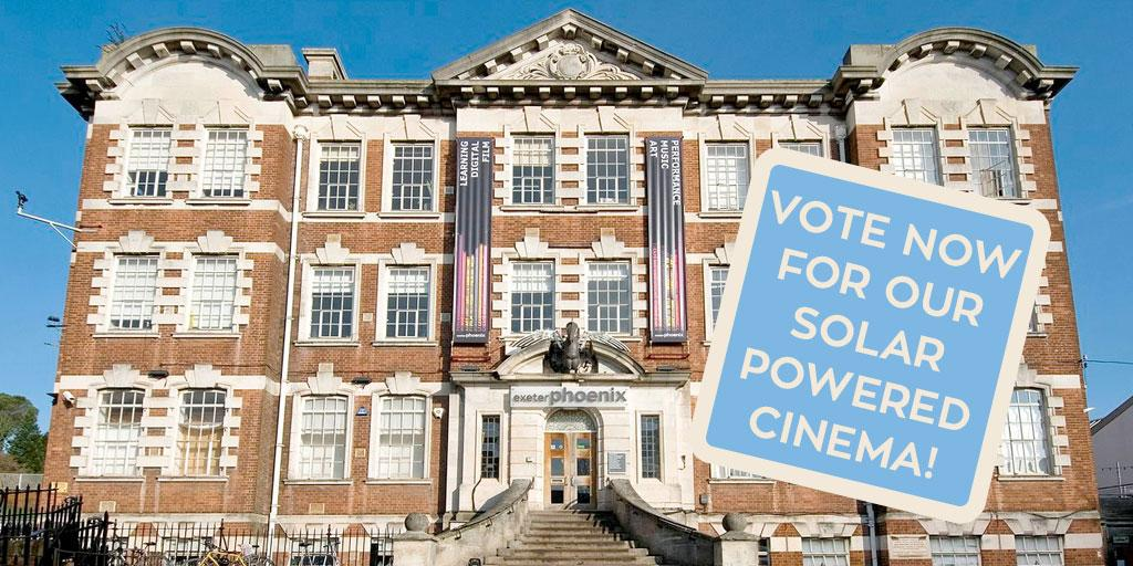 We need your help #Exeter! Vote for us to receive funding for our solar-powered cinema https://t.co/XIqbFMIhdM http://t.co/FYTOhhERAC